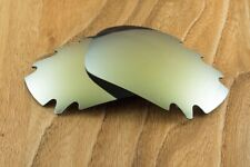 24K Gold Iridium Polarized Vented Mirror Sunglass Lens for Oakley Racing Jacket