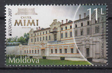 MOLDOVA 2017 EUROPA CEPT.CASTLES.1 stamp.MNH