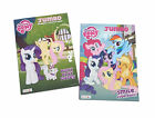 My Little Pony Coloring Book Friendship is Magic Kids Activity Books Set of 2