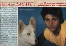 Coupure de presse Clipping 1983 Jean Luc Lahaye (2 pages)
