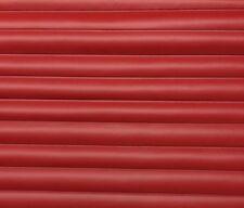 "VINYL SUPREME RED MARINE PLEATED VINYL AUTO BOAT ATV FABRIC 20"" LONG X 54""W"
