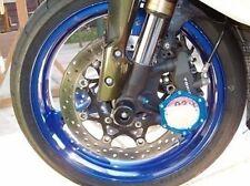 Suzuki GSXR750 1996 - 2001 Bouchons Crash Champignons Essieu avant Curseurs Srad