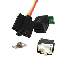 JQ_ DC 12V 30A 4Pin Electronic Relay Car Automotive Fuse with Socket Proper