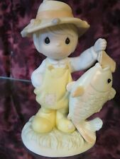 """Precious Moments-#531030 """"You Are My Once In A Lifetime"""" -Girl w/Fish- New"""