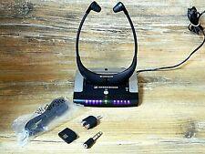 Sennheiser IS 410 -TI 410- RI 410 TV - Stereo Funkkopfhörer mit Zubehör