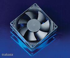 Akasa ventilador enfriamiento 80mm X 25mm de velocidad media versión OEM