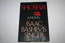 Shosha: A Novel by Isaac Bashevis Singer Judaica