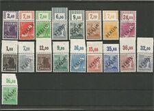 Berlin 1-16 Schwarzaufdruck OR sauber ** oft Schlegel BPP M€ 865 - 47-085