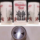 Milwaukee's Best Beer Pull Tab Can 2 Two Steins Miller Milwaukee Wisconsin 47G