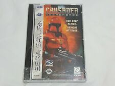 NEW (w/ Wear) Crusader No Remorse Sega Saturn Game SEALED crusador US NTSC