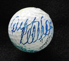 Duffy Waldorf Signed Titleist 4 White Golf Ball With Sketch JSA Authenticated