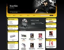 MOVIE & DVD eCommerce Store trailers website for sale