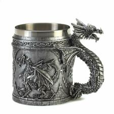 "Furniture Creations 15132 Serpentine Dragon Mug, 5.75"" x 3.5"" x 5"", Multicolor"
