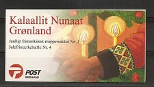 Greenland Sc # 356a Christmas 1999 . Complete Booklets