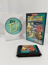 Sega Genesis Street Fighter 2 Game & Case