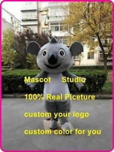 Cute Koala Mascot Costume Cosplay Party Game Dress Outfit Halloween Adult Hot