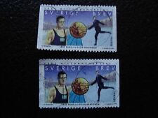 SUEDE - timbre yvert et tellier n° 2061 x2 obl (A29) stamp sweden (Z)
