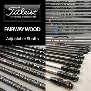 Titleist Custom Graphite Fairway Golf Club Shafts Fits: 913, 915, 917, TS, TSi
