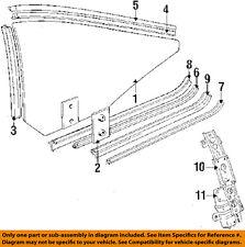 BMW OEM 85-89 635CSi Glass Hardware-Window Regulator Right 51371874606