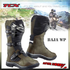 STIVALI TOURING ADVENTURE TCX BAJA WP 9220W ENDURO WATERPROOF MARRONE TAGLIA 43