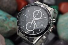 Men's TAG HEUER Carerra Automatic Calibre 16 Chronograph CV-2010-2 S.S. Watch