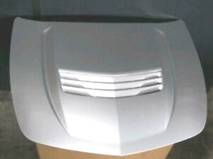 New GM OEM Cadillac CTS-V CTS V Hood 2014-2019 Carbon Fiber Silver with louver