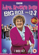 Mrs Brown's Boys - Complete BBC Series 1 2 & 3 + Christmas Specials Box Set DVD