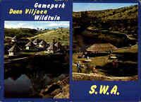 Game-Park Daan Viljoen Wildtuin in NAMIBIA Südwestafrika Postkarte SWA Postcard