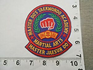 Master Jaesun Do Tae Kwon Do Academy Patch          free shipping