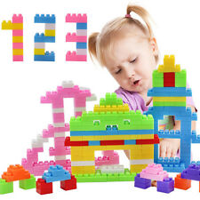 144Pcs Plastic Building Blocks Bricks Toy Children Kid Puzzle Educational Top