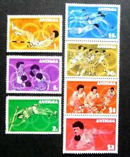 ANTIGUA QEII 1976 OLYMPIC GAMES  SET OF 7 SG 495-501 M/M