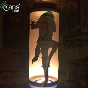 Ian Anderson 'Jethro Tull' Beer Can Lantern! Blues, Folk, Pop Art - Unique Gift!