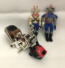 1993 Galoob Biker Mice From Mars THROTTLE MARTIAN Monster Bike + 2 Figures -READ