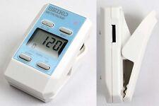 SEIKO DM51 L Clip-on Pocket-Sized Digital Metronome Compact