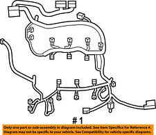 FORD OEM-Engine Control Module ECM PCU PCM Wiring Harness BU5Z12A581DK