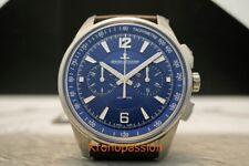 Jaeger-LeCoultre Polaris Chronograph Automatic Blue Dial 9028480 New !