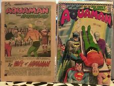 Aquaman silver/bronze age comics: 18, 30, 33 [Aquagirl!], 54, 55