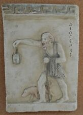 Diogenes the Cynic sculpture Ancient Greek philosopher relief sculpture