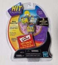 Hit Clips - The Simpsons 3 Pack Tiger Electronics Hasbro Homer Bart Springfield