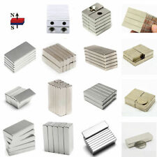 1-100X Super Strong Poweful Block Magnet Rare Earth Neodymium N50 Oblong Magnet