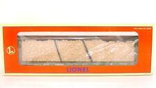 Lionel O/027 9823 BC British Columbia Rail Bulkhead Flat Car w Wood Load 6-16982