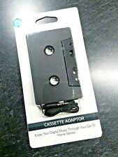 New Sealed Onn Cassette Stereo Tape Adapter Phone Mp3 Cd Digital to Car Stereo