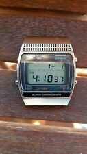 Vintage Seiko A259-5010 T adverts for Moonraker James Bond 007 Digital LCD