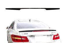 Mercedes Benz C207 W207 E-class Coupe AMG Style echtes Carbon Heckspoiler neu