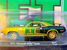 M2 Machines Auto-Drivers 1971 Plymouth ET Mags Hemi Cuda 1:64 Scale