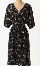 Anthropologie Many Folds Shirtdress Little Black Dress 5 Stars Size 4