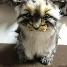 HANSA Pallas Cat 30 Plush Doll Stuffed Animals Life Size Standing BH7077 Japan !