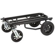 Rock N Roller MultiCart R12 All Terrain Audio Music Equipment Cart Stealth Black