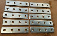 B341ZN B-LINE 4 HOLE SPLICE PLATE LOT OF 10.