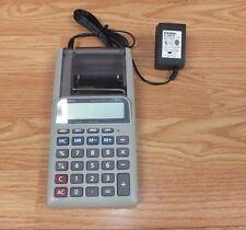 Genuine Casio (HR-8L) F-5/4-Cut Printing Calculator w/ Power Supply Included